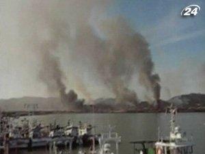 Артиллерия КНДР обстреляла южнокорейский остров Енпхендо