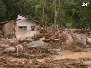 Бразилия страдает от худших наводнений в истории страны