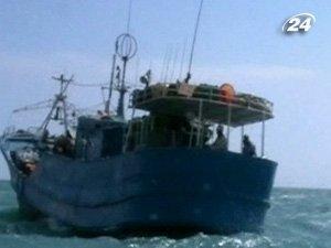 Захвата судна пиратами
