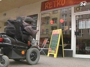 На wheelmap.org обозначены места, приспособленные для инвалидов