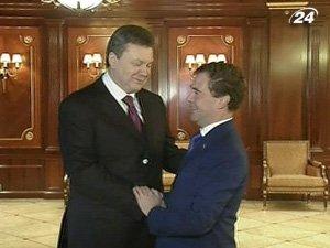 Встреча Януковича и Медведева