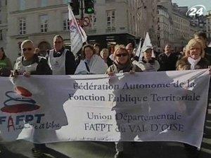 Массовые забастовки во Франции