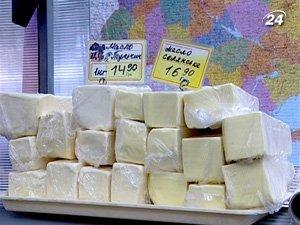 Украина будет импортировать из Беларуси 15 тыс. тонн сливочного масла