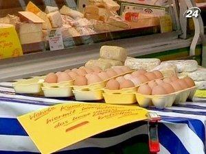 Продукцию, изготовленную из яиц с диоксином, изъяли из продажи