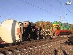 Аварія на луганській залізниці