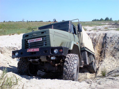 КрАЗ-5233ВЕ «Спецназ» испытания