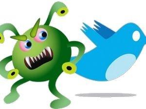 Вирус напрявляе на сайты, которые воруют пароли к Twitter