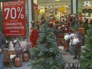 Европейцы экономят на рождественских подарках