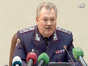 Начальник Департамента ГАИ МВД Украины Валерий Лозовой