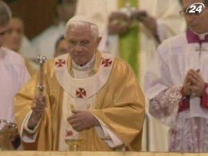 Папа Римский освятил собор Саграда Фамилия в Барселоне