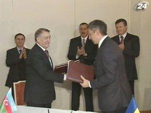 Украина и Азербайджан подписали меморандум о поставках сжиженного газа
