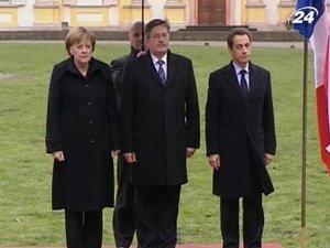 В Варшаве прошли переговоры лидеров ФРГ, Франции и Польши