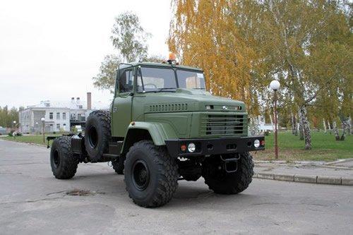 КрАЗ-5233НЕ с правым рулем