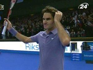 Федерер пробился в финал