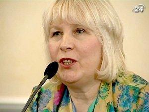 Заместитель министра юстиции Украины Лидия Горбунова