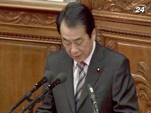 Японский премьер Наото Кан