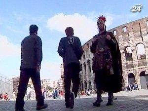 В праздничные дни Рим посетили более 1 млн. туристов