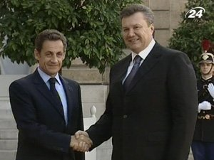 Встреча Президентов Франции и Украине