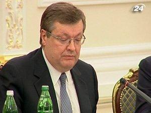 Министр иностранных дел Константин Грищенко