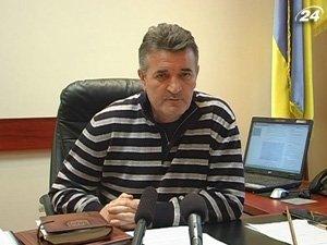Начальник УМВД Украины в Закарпатской области Виктор Русин