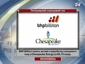 BHP Billiton купить активы в Chesapeake Energy