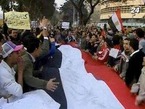 Демонстранты требуют отставки Президента