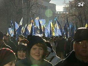 Демократических свобод в Украине все меньше