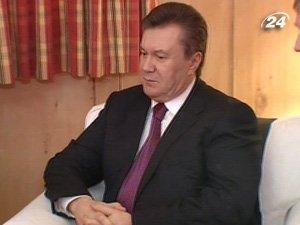 Виктор Янукович в Давосе