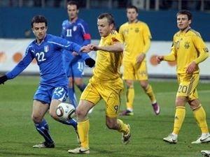 Украинцы сыграют с чехами