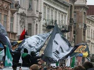 Фото с праздничного марша