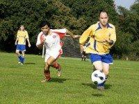 Игра в футбол