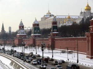 Загруженность улиц Москвы