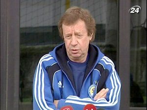 Главный тренер киевского Динамо Юрий Семин