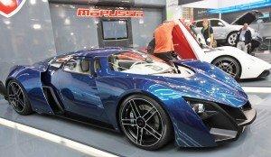 Спорткар Marussia
