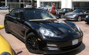 Porsche Panamera Сильвестра Сталлоне