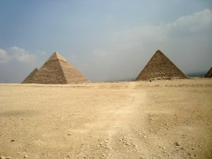 Посещение пирамид в Египте