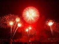Новогодний фейерверк в Тайланде