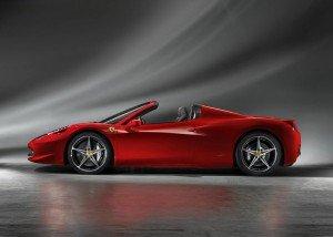 Ferrari 458 Italia Spider. Фото Ferrari