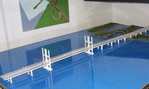 Проект нового моста через Днепр в Кременчуге