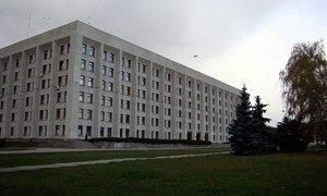 Здание Полтавского облсовета и Полтавской ОГА