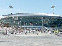 Стадион «Донбасс Арена» в Донецке