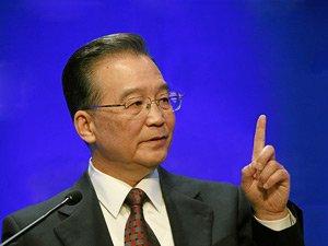 Вэнь Цзябао. Оригинал фото World Economic Forum
