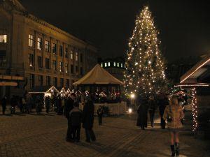 Зима в Риге, Латвия