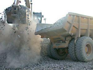 Возобновляются работы в камнедобывающих карьерах