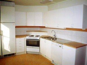 Кухонный гарнитур, выполненный на заказ
