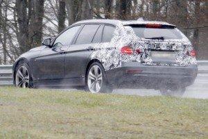 Шпионское фото BMW 3 Series Touring