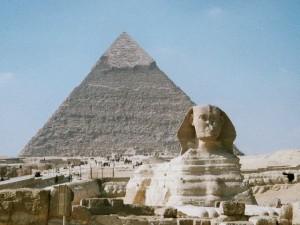 Великий сфинкс в Гизе, Египет
