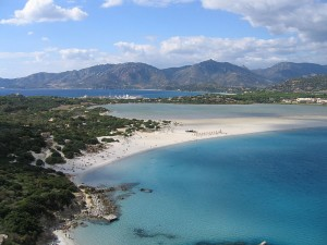 На пляжах Сардинии
