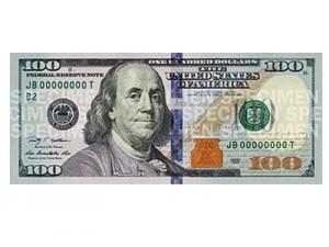 Современная банкнота в 100 долларов США
