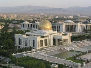 Президентский дворец в Ашхабаде